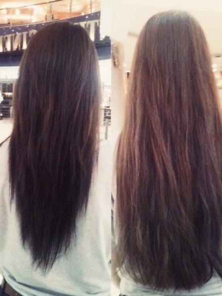 Best 25+ V Shape Cut Ideas On Pinterest | V Shape Hair, V Cuts And For Long Hairstyles V Shape At Back (View 11 of 15)