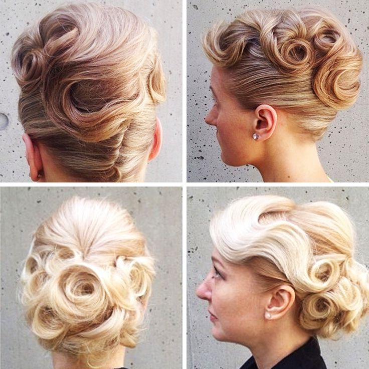 Best 25+ Vintage Updo Ideas On Pinterest | Vintage Bridal Hair With Vintage Updos For Long Hair (View 13 of 15)