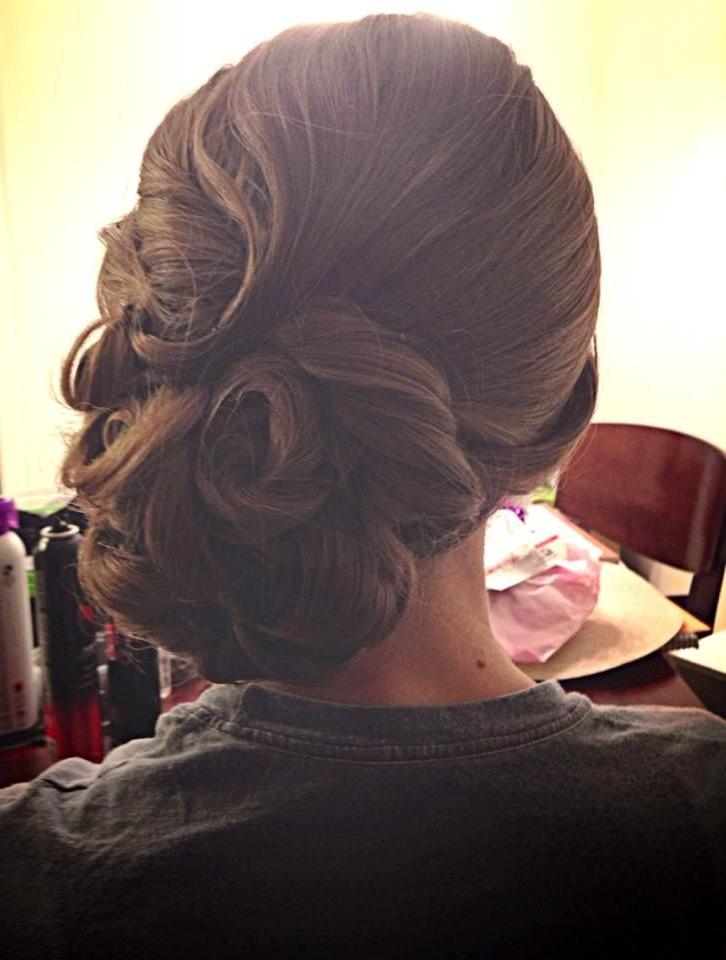 Best 25+ Vintage Updo Tutorial Ideas On Pinterest | Easy Vintage For Vintage Updos For Long Hair (View 14 of 15)