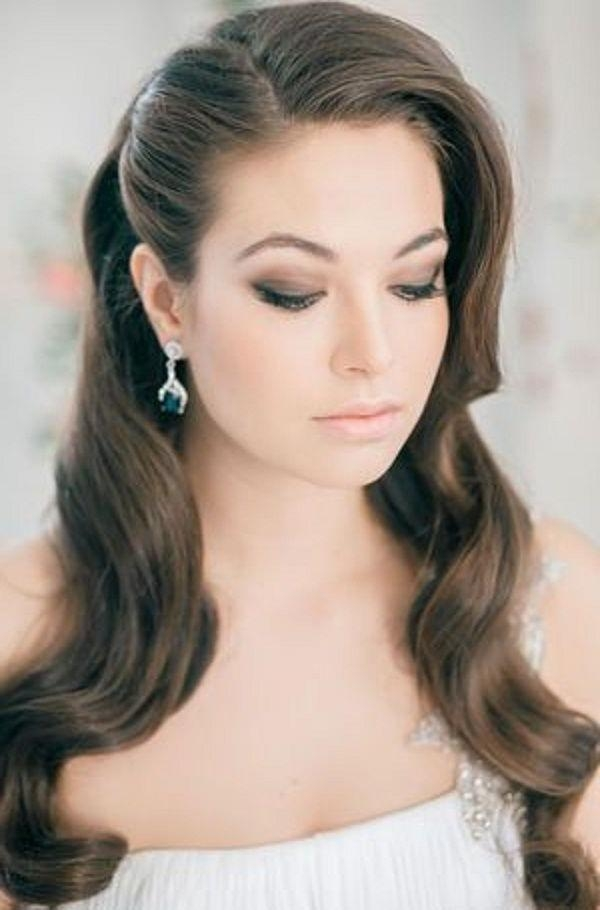 Best 25+ Vintage Wedding Hairstyles Ideas On Pinterest | Vintage Inside Long Hairstyles Elegant (View 9 of 15)