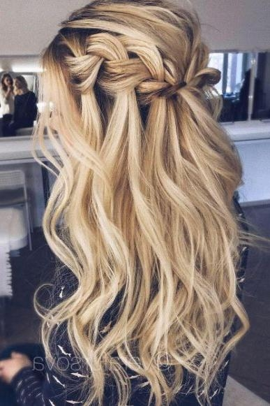 Best 25+ Waterfall Braids Ideas On Pinterest | Waterfall Hair In Long Hairstyles Plaits (View 10 of 15)