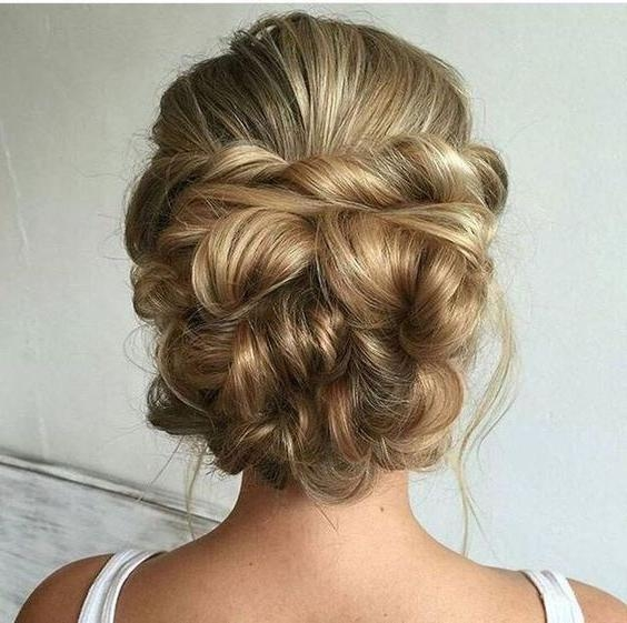 Best 25+ Wedding Updo Hairstyles Ideas On Pinterest | Long Hair Within Long Hairstyles Updos For Wedding (View 3 of 15)