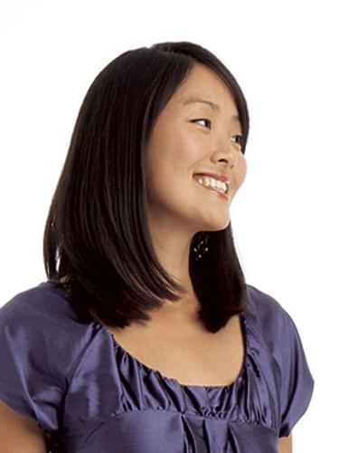 Best Asian Hairstyles & Haircuts – How To Style Asian Hair With Regard To Long Bob Hairstyles Korean (View 14 of 15)