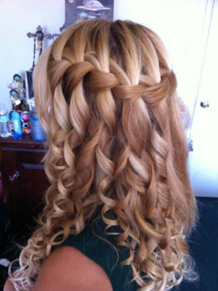 Best Braided Hairstyles With Curls Gallery – Unique Wedding In Long Curly Braided Hairstyles (View 7 of 15)