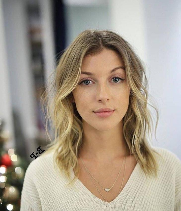 Best Face Framing Hairstyles For 2017 – Page 2 – Haircuts And Within Long Neck Hairstyles (View 9 of 15)