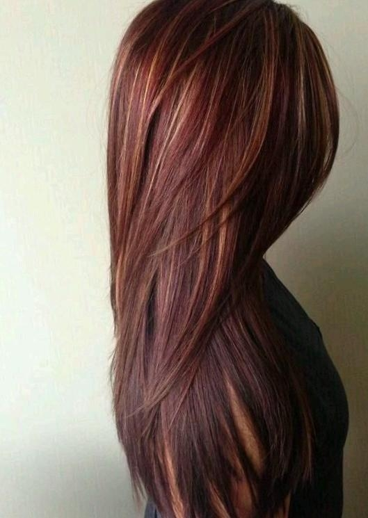 Best Hairstyles And Color For Long Hair Gallery – Best Hairstyles With Long Hairstyles And Color (View 11 of 15)