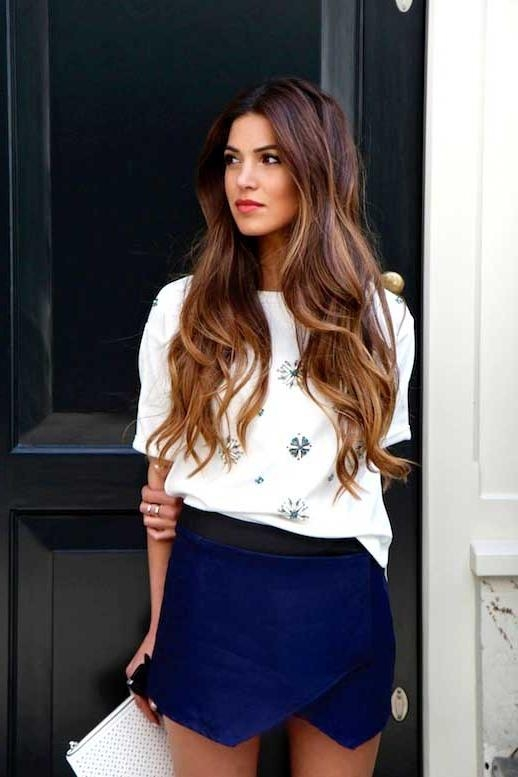 Best Long Hairstyles 2015 Inside Long Hairstyles In  (View 11 of 15)