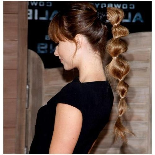 Best Ponytail Hairstyles For Long Hair Images – Best Hairstyles In Intended For Long Hairstyles Ponytail (View 10 of 15)