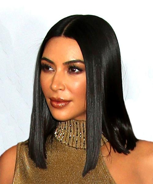 Bob Hairstyles In 2017 | Thehairstyler Regarding Long Bob Hairstyles Kim Kardashian (View 6 of 15)