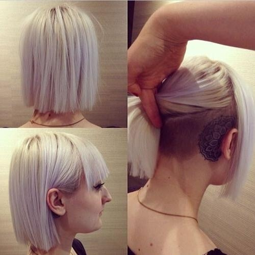 Bob On Top, Shaved Underneath!! | Tattoos&piercings | Pinterest For Long Hairstyles Shaved Underneath (View 14 of 15)