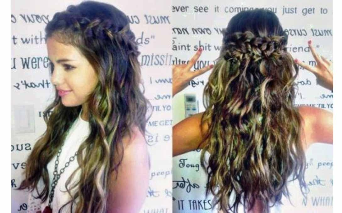 Braided Hairstyles For Long Hair Pertaining To Cute Braiding Hairstyles For Long Hair (View 10 of 15)