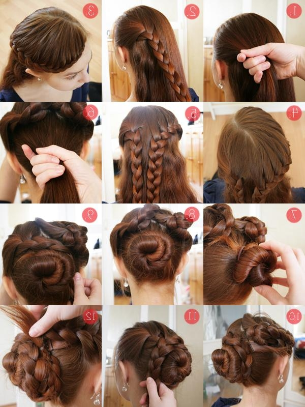 Braided Updo Tutorial For Long And Thick Hair | Pearls And Scissors Throughout Braids For Long Thick Hair (View 7 of 15)