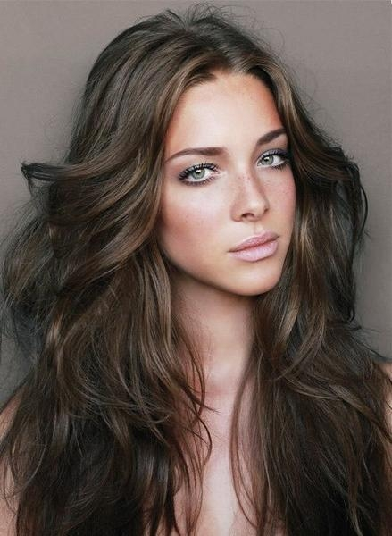Brunette Hairstyles Is One Of The Best Idea For You To Remodel Throughout Long Hairstyles Brunette (View 15 of 15)