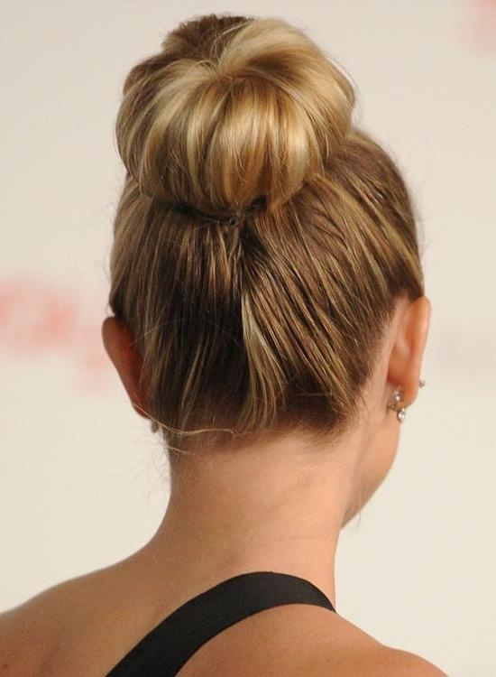 Buns Hairstyles | Hairstyles,short Hairstyles,natural Hairstyles For Long Hairstyles Buns (View 12 of 15)