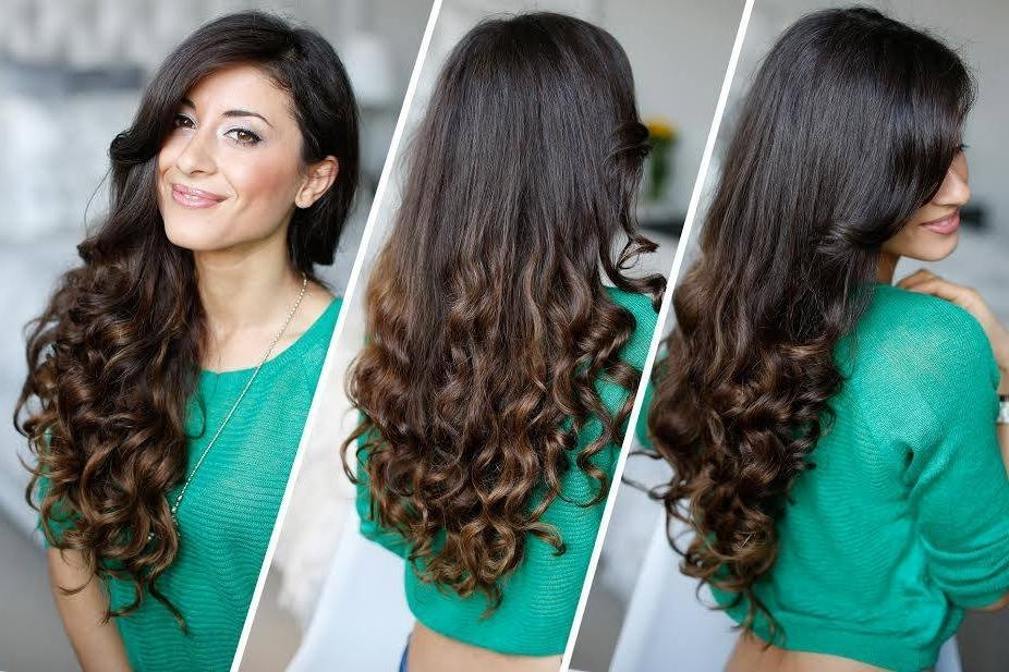 Casual Hairstyles For Long Hair Pertaining To Casual Hairstyles For Long Curly Hair (View 7 of 15)