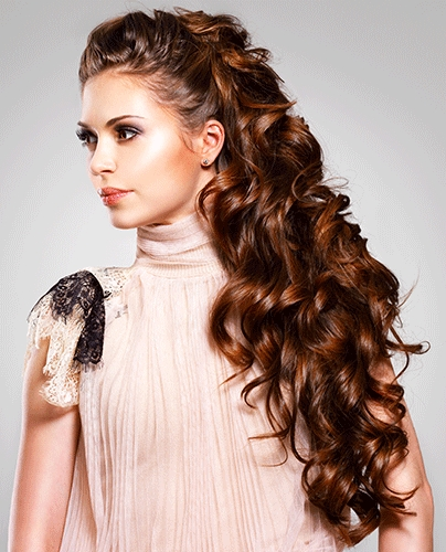 Celeb Curly Long Hairstyles Within Long Hairstyles Curly (View 14 of 15)