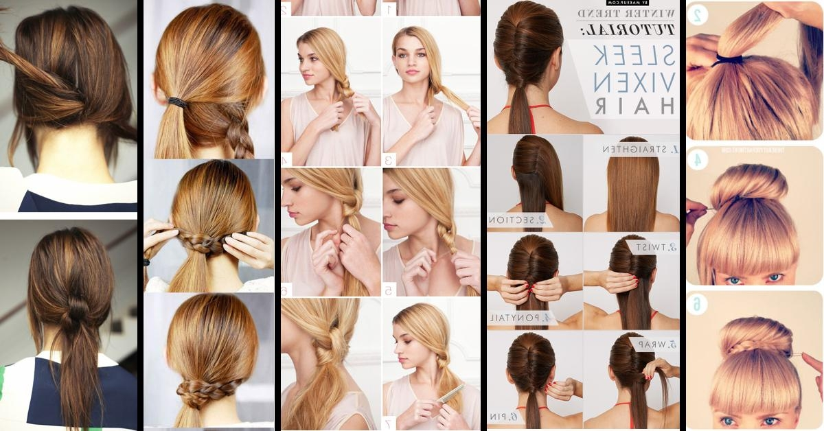 Classy To Cute: 25+ Easy Hairstyles For Long Hair For 2017 For Long Hairstyles Diy (View 11 of 15)