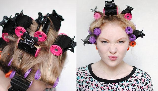 Curl Long Hair With Rollers – Popular Long Hair 2017 In Curlers For Long Hair Thick Hair (View 9 of 15)