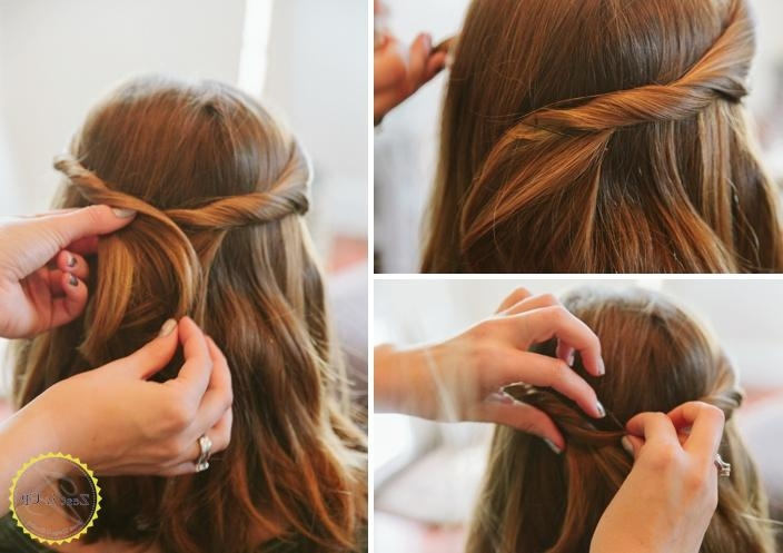Cute Hairstyles For Long Hair Without Bobby Pins (View 11 of 15)
