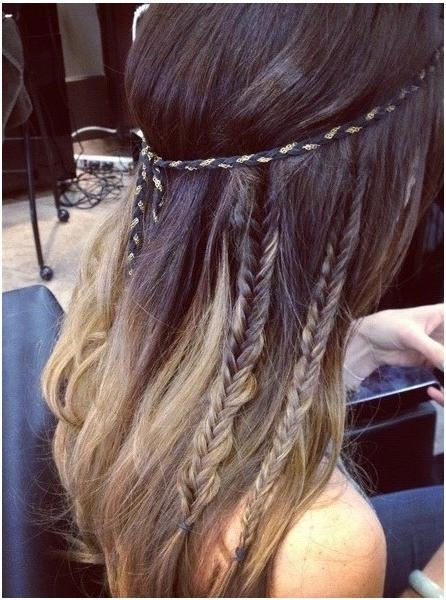 Diy Braided Hairstyles For Long Hair: Cute Braid – Popular Haircuts With Cute Braided Hairstyles For Long Hair (View 11 of 15)