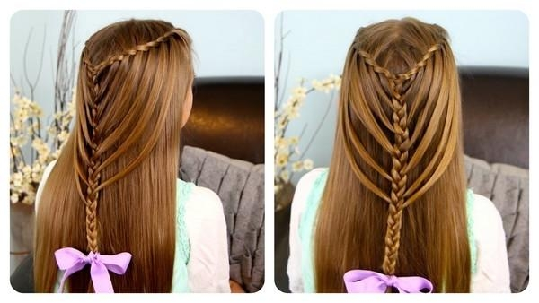 Easy Hairstyles For Long Hair – Beauty Stylo Pertaining To Long Hairstyles At Home (View 6 of 15)