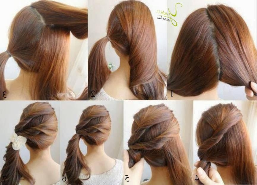 Easy Hairstyles For Long Hair – Hairstyles With Long Hairstyles At Home (View 7 of 15)