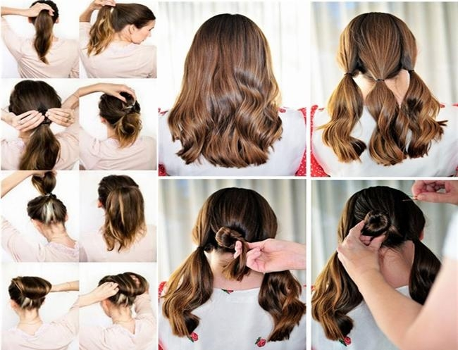 Easy Hairstyles To Do At Home Stepstep For Kids | Kids Pertaining To Long Hairstyles At Home (View 9 of 15)