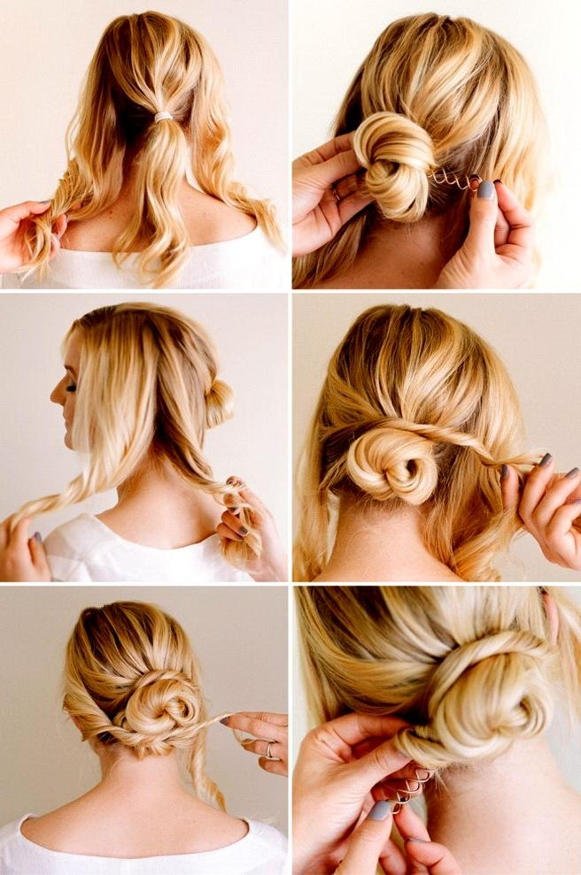 Easy Hairstyles To Do At Home With Long Hair – Stylish Hairstyles Throughout Long Hairstyles At Home (View 10 of 15)