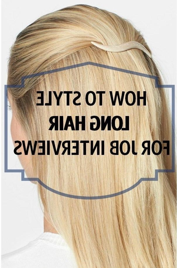 Easy Professional Long Hairstyles – Popular Long Hair 2017 In Long Hairstyles That Look Professional (View 9 of 15)