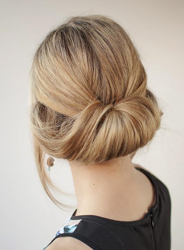 Easy Updo's That You Can Wear To Work – Women Hairstyles With Long Hairstyles For Work (View 14 of 15)