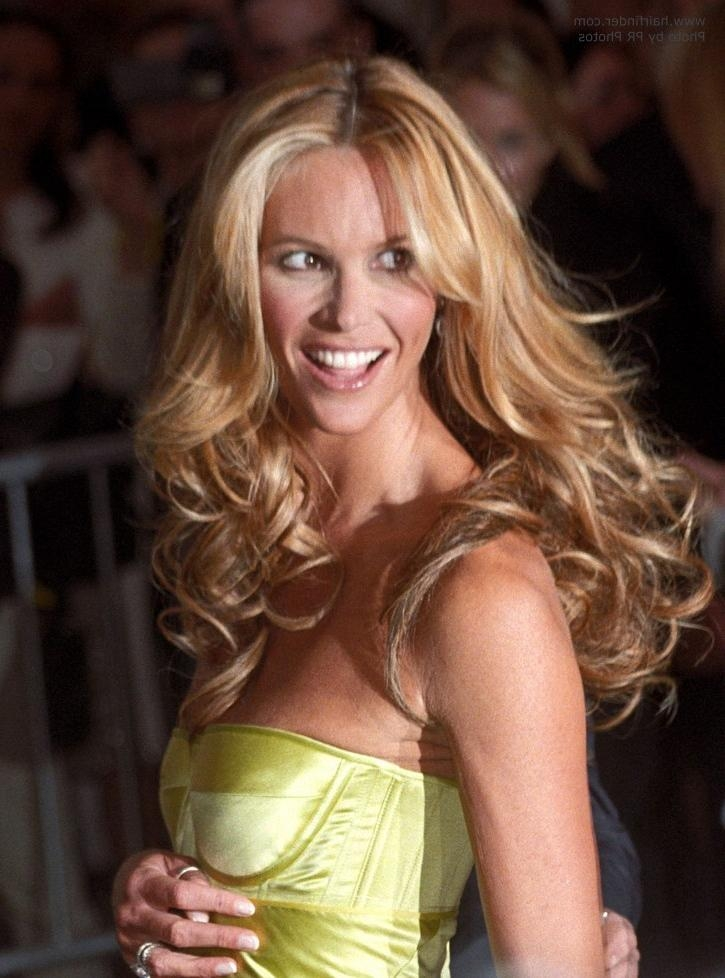 Elle Macpherson | Long Middle Of The Back Hairstyle With Waves And With Long Hairstyles Elle (View 7 of 15)