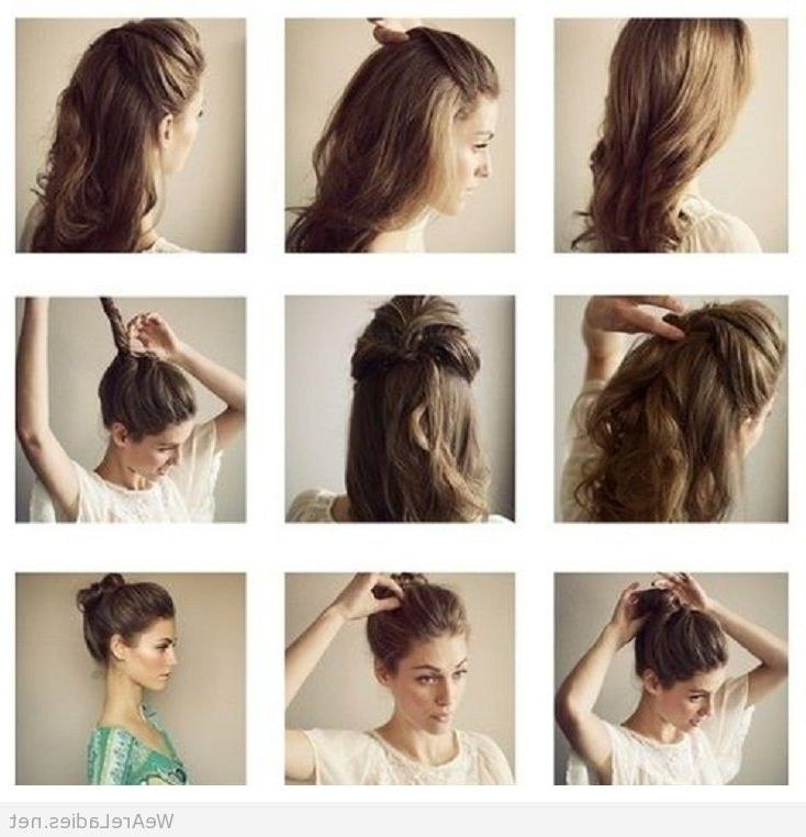 Emejing Hairstyle At Home Gallery – Unique Wedding Hairstyles Regarding Long Hairstyles At Home (View 12 of 15)