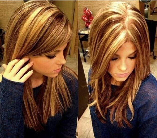 Emejing Hairstyles Highlights Ideas – Awesome Wedding Hairstyles Pertaining To Long Hairstyles And Highlights (View 11 of 15)