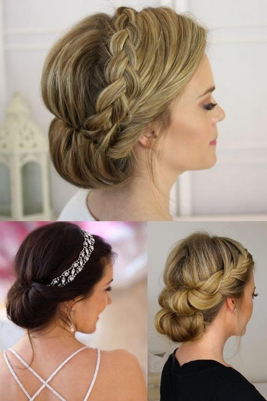 Emejing Wedding Hair For Thin Hair Images – Awesome Wedding Pertaining To Wedding Updos For Long Thin Hair (View 7 of 15)