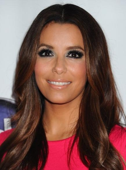 Eva Longoria, Straight, Layered Haircuts For Long Hair – Popular Pertaining To Long Hairstyles Eva Longoria (View 14 of 15)