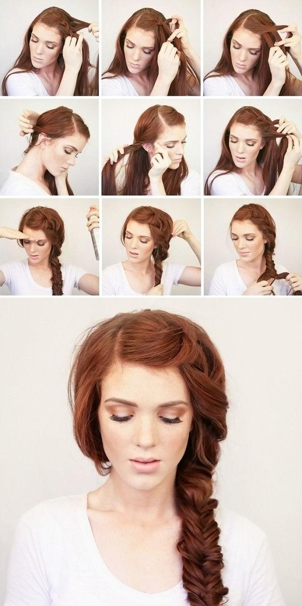Featured Photo of Long Hairstyles Diy