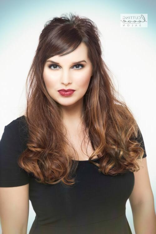 For Your Hair Bucket List: 30 Side Swept Bangs That Bang! Pertaining To Long Hairstyles With Short Bangs (View 13 of 15)