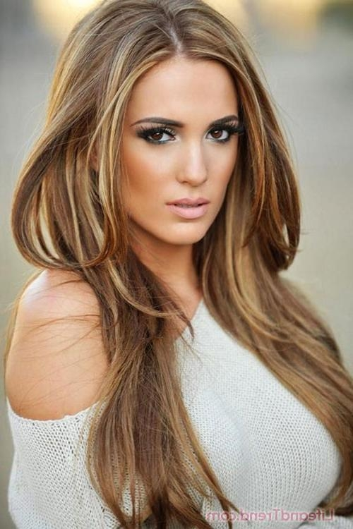 Hair Color And Best Hairstyles 2015 Long Or Short Hair Within Long Hairstyles And Highlights (View 13 of 15)