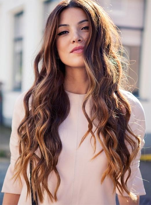 Hairstyle For Long Curly Hair Hairstyles For Curly Long Hair In Long Hairstyles With Curls (View 6 of 15)