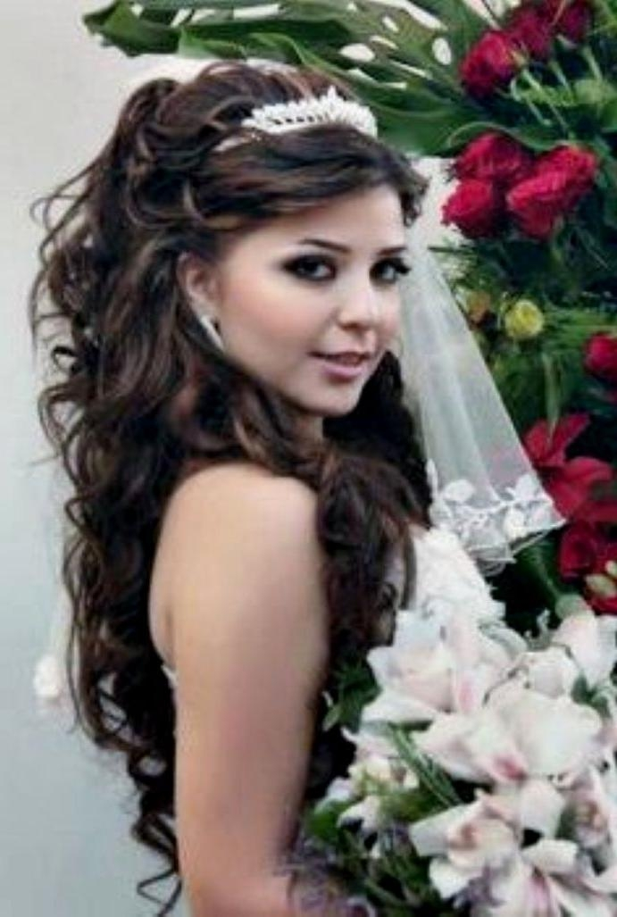 Hairstyle Medium ~ Hair Is Our Crown With Long Hair Quinceanera Hairstyles (View 14 of 15)