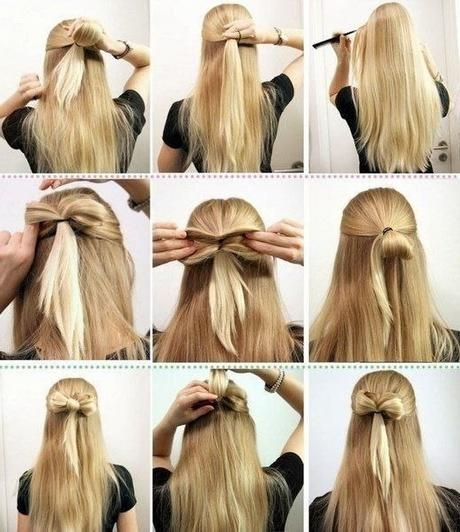 Hairstyles : Easy Hairstyles For Long Hair To Do At Home Easy Inside Long Hairstyles At Home (View 13 of 15)