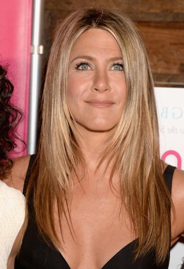 Happy Birthday Jennifer Aniston! See Her Most Iconic Hairstyles With Regard To Long Layered Hairstyles Jennifer Aniston (View 4 of 15)