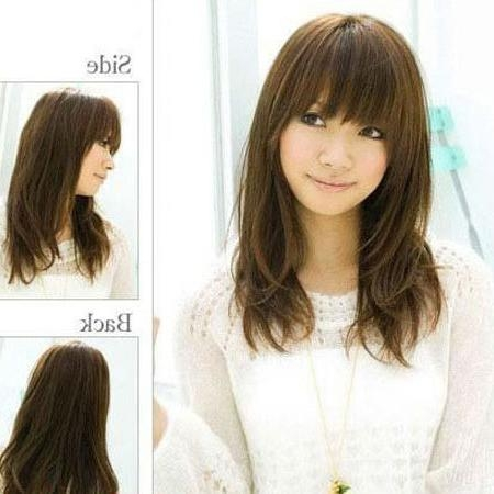 Hogan Scarpe Outlet: Japanese Micro Sugar Hair With Japanese Long Hairstyles  (View 7 of 15)