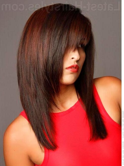 Hot Hair Alert: 20 Gorgeous Hairstyles For Long Straight Hair For Long Hairstyles Razor Cut (View 6 of 15)