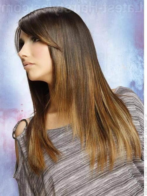 Hot Hair Alert: 20 Gorgeous Hairstyles For Long Straight Hair In Long Straight Hairstyles Without Bangs (View 6 of 15)