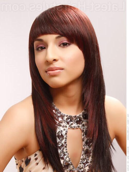 Hot Hair Alert: 20 Gorgeous Hairstyles For Long Straight Hair In Razor Cut Hairstyles Long Hair (View 7 of 15)