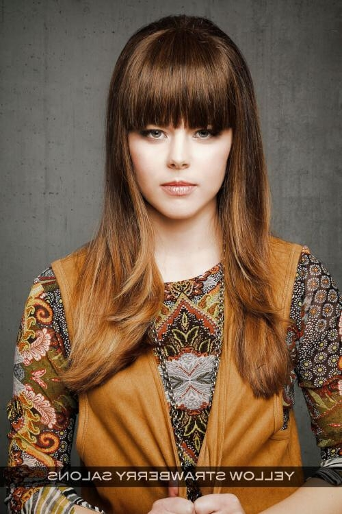 Hot Hair Alert: 20 Gorgeous Hairstyles For Long Straight Hair With Long Razor Haircuts (View 6 of 13)