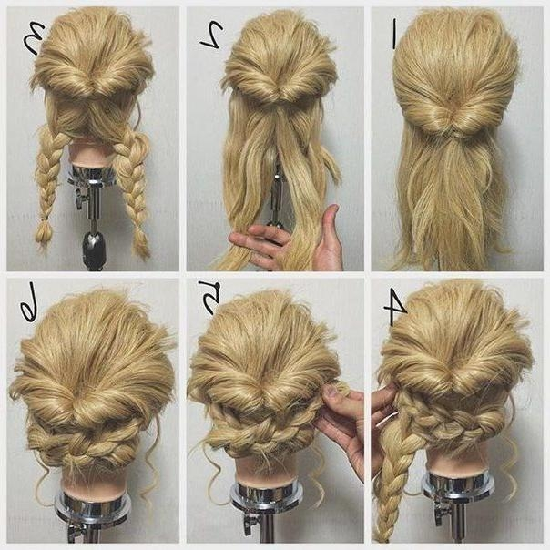 Ideas And Decor | Updo, Hair Style And Haircuts Throughout Long Hairstyles Easy Updos (Gallery 4 of 15)