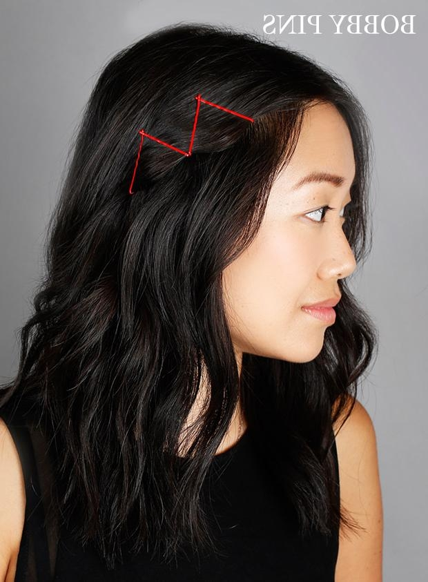 Ideas For Hairstyles With Bobby Pins – How To Use Bobby Pins Throughout Long Hairstyles Using Bobby Pins (View 15 of 15)