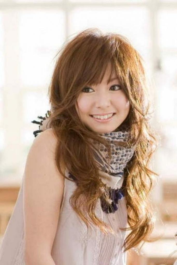 Japanese Hairstyles For Long Hair Japanese Long Layered Hairstyles For Long Layered Japanese Hairstyles (View 15 of 15)